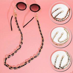 60 cm acrílico gafas de sol cadenas mujeres anti resbalón lectura gafas cadenas de las cadenas máscara titular cuello correa lanyard bolsa correa accesorios regalo regalo