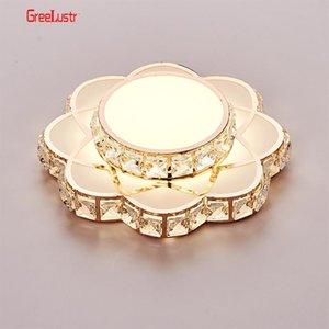 Modern Led Crystal Chandelier Light Gold Ceiling Chandeliers Lamp For Kitchen Lustre Lighting Hanging Fixture Luminaire