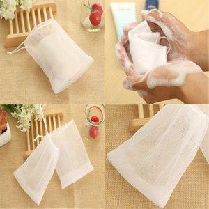 New Soap Blister Bubble Net Mesh Soap Face Wash Froth Nets Soap Mesh Bag Manual Bag Bathroom Accessories 547 R2