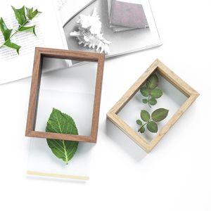 Creative DIY Handmade Children's Plant Specimen Box Double-Sided Transparent Simple Modern Stereo Photo Frame 7 inch