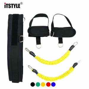 Itstyle Resistance Leg Training Latex Resistance Basketball Tennis Stretch Rope Strength Bounce Agility Trainer Strap Rope sqcVEF home2006