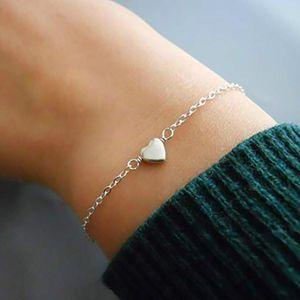 Charm Bracelets For Women Bohemian Style Heart Tassel Bracelet Fashion Jewelry Accesorios Wholesale Bulk Pulseras Kpop