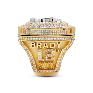 Fans'Collection Tampa Bay 2020-2021 Pirate Wolrd Champions Team Championship Ring Sport souvenir Fan Promotion Gift wholesale US SIZE 9-13#