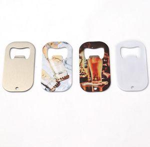 Сублимационные пустые пивные бутылки открывающие штопор DIY металлический серебряный турок собаки творческий подарок домашний кухонный инструмент SN2809