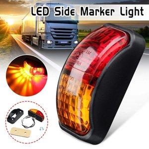12v 24v SMD LED Bulbs Side Marker Light Truck Trailer Van Red & Amber Easy To Mount for Cars Boat Trailers Caravans Trucks