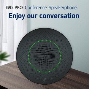 Omnidirectional Microphone USB Wired Voice Pickup Mic Speaker Meeting Business Conference Computer Laptop Home Audio Theatre System