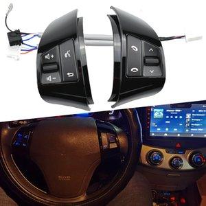 Высочайшее качество Bluebacklight Bluetooth Audio Volume Music Control Выключатель для Hyundai Elantra HD многофункциональные кнопки рулевого колеса