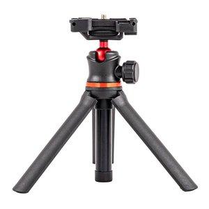 Selfie Monopods Desk Tripod Stick Length Adjustable Bracket SLR Universal Live Streaming Phone Holder Mini Portable Travel