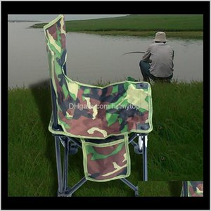 Hiking Camp Furniture Picnic Double Folding Table Chairs Fold Up Beach Camping Chair Stool Easy Carry Fishing Small Seat Tojlw Tqobd