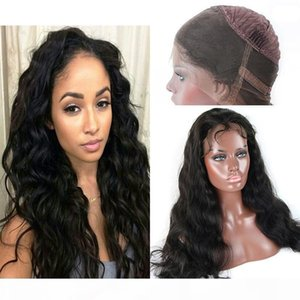 8A Grade 360 Lace Frontal Cuticle Aligned Wigs 1Pcs Brazilian Body Wave Human Hair Wigs For Black Women 150% Density Natural Color