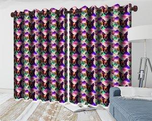 3d Blackout Curtain Cartoon Animal Modern Beautiful And Practical Digital Printing Home Improvement Curtains