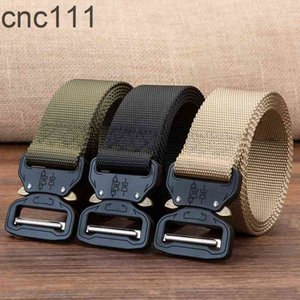 Tactical Military Nylon Belt Men Army Style Metal Buckle Quality Waist Strap Automatic hombre luxury for
