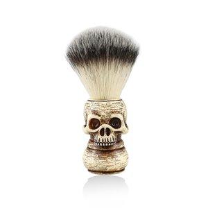Barber Professionnel Crâne Soft Badger Soft Hommes Visez des outils Mousse Razor Brosse Beard Beard Brosses de rasage