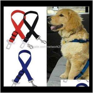 Collars & Leashes 2Dot5X 75Cm Adjustable Car Vehicle Safety Seatbelt Seat Belt Harness Lead For Cat Dog Pet Kingdom 3Jcnt Tcpdh