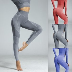 Yoga Outfits Women Pant Tummy Control Gym Sport Fitness Workout Tights Female High Waist Athletic