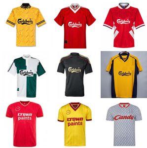 20 21 Fans Version Retro Soccer Jersey 89 91 95 96 04 05 Final Istanbul 8 Gerrard Steven 2005 Smicer Alonso Hamann Champion Maglia Mailhot Q