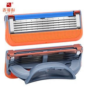 Five Layer Manual Razor Head, Blade, Stainless Steel Hot Model, Five Colors