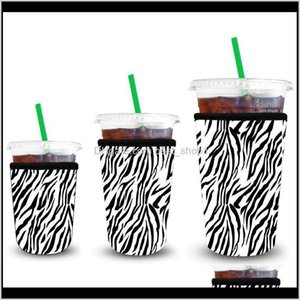 Other Drinkware Sleeves 3 Pack Reusable Iced Coffee Insulator Sleeve For Cold Drinks Beverages Neoprene Cup Holder Ewa3137 94Ra0 Qy9Jk