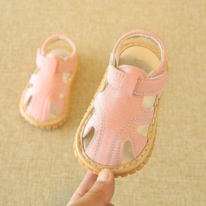 2021 0-2 Years Old Male And Female Baby Toddler Sandals Summer Style Soft Sole Called Shoes Korean First Walkers