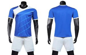 Custom Blank Team Soccer Jerseys Set wholesale Customized Tops With Shorts Training Jersey Short,fashion Running uniform kits CAL12 011