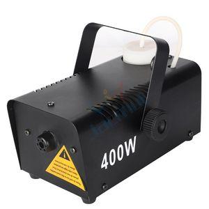 Effects 400W 0.75L Capacity Wired Control Black Mini Smoke Fog Machine For Wedding Dj Stage Event