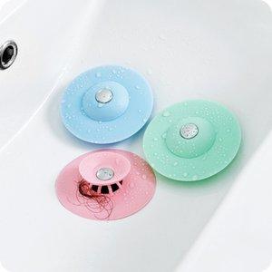 Odeur de silicone Flying Soucoupe de sol de plancher de sol de toilette d'égout anti-encrier Elément filtre Invisible Plastique DRA4GO2