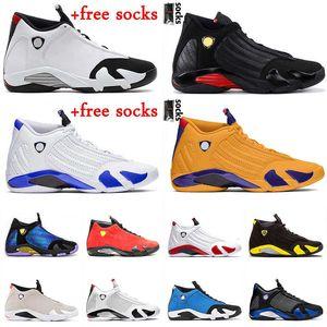 2021 Jumpan de qualité supérieure 14 14S XIV Baskets Hommes Basketball Chaussures Gym Bleu Rouge Université Rouge Gold Retro Mens Baskets Hyper Royal Black Candy