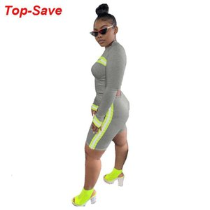 Outfits For Women Clothing Sets Arrival 2021 Summer Two Piece Set Casual Fashion Fitness Sports Suit Female Reflective Women's Tracksuits