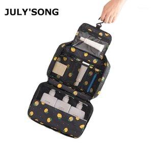 LUGLINO'S BAMBINO MULTIFUNZIONALE WASH BAG BAG BAG BAGNA AMERMATIBILE BAG BAG GRANDE Capacità Stoccaggio da viaggio Portable Make up Case1