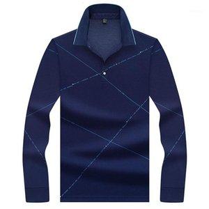 Jungle Zone Brand Men 2020 Fashion Camisa Shirts Camisa de cuello de manga larga para hombre Tops de camiseta transpirable 86021