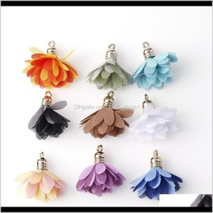 Arts And Crafts 10Pc 1230Mm Mixed Styletassel Flower Silk Polyester Charms Pendant Drop Earring Tassel For Jewelry Diy Supplies Making Fisvb