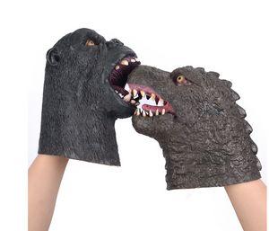 Godzilla vs. Vajra latex mask head cover puppet toy