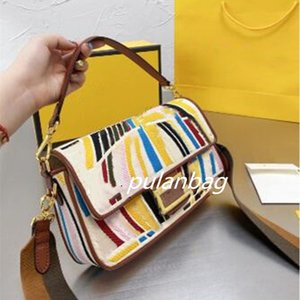 Women Evening Fashion Shoulder Bag Handbags designer Luxury canvas embroidery embossed letter Crossbody bags Hobo purses wallet totes magnetic lock Buckle