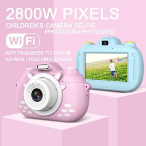 Digital Kids Camera 3Inch TouchScreen Dual Lens Cartoon Pography Birthday Gift HSJ-19 Cameras