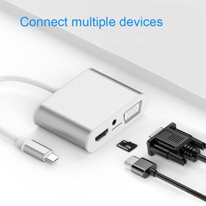 Type C Hub To USB 3.0 Docking Station Expansion Thunderbolt 3 Adapter Accessories For MacBookPro Hab Huawei Stations