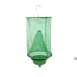 Practical Green Insect Trap Bug ECO Suspension Fly Catcher Cage Small Network Outdoor Tool Pest Control HWE9403