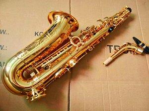 Quality Saxophone Alto sax Golden Mark VI E Flat professional-Grade music instruments Brass and Case