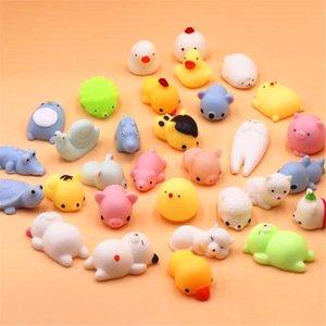 미니 변화 색상 짜기 귀여운 고양이 Antistress Ball Squee 0 상승 비행기 부드러운 스티커 스트레스 구호 장난감 재미 있은 선물 Mochi 장난감