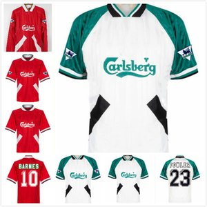 1993 1995 Barnes Rush Clough Redknapp Fowler Stewart retro soccer jersey 93 94 95 Nicol McManaman vintage classic football shirt