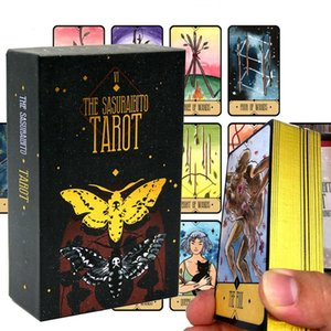 Tailor Tarot cover, 78 63 pag guide, original divination, gold-plated ee, beautiful and durable, box coverC638