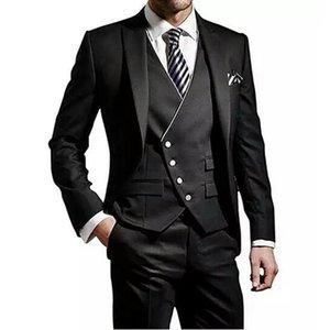 Custom Custom Wack Hommes Mariage Costumes Homme Blazers 3piece Slim Fit Coat Pantalon Vest Costume Homme Italien Terno Masculino Pal Hommes