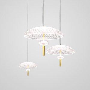 Pendant Lamps Europe Led Glass Ball Crystal Luminaire Hanglamp Kitchen Dining Bar Retro Lamp Living Room Lights Livingroom Bedroom