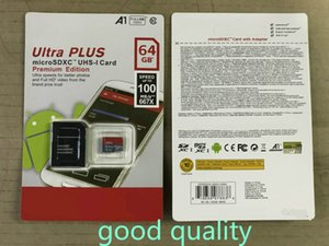 Hochwertige neue Ultra-A1 32 GB / 64GB / 128 GB / 256GB SDK Micro-Speicher SD-Karte 100MB / s UHS-i C10 TF-Karte mit Adapter