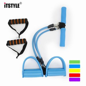 Itstyle Men And Women 3 Functional Fitness Equipment Three Tubes Pedal Pedal Puller Sit Ups Ab Trainer Yoga Pull Rope sqcMtW home2006
