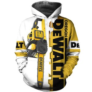 Amazing Chainsaw 3D Full-printing Fashion Hoodie Sweatshirt   Zip Men Women Hip-hop Casual Tops FY0013