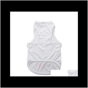 Apparel Sublimation Blank White Clothing Diy Dog T Shirt For Small Pet Heat Transfer Print Gga4276 Wg6Wk E3Sgq