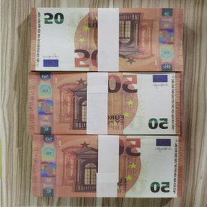 Money Bar Pretend Prop 50 Euro And Paper 100pcs pack Copy Banknote Movie Best 06 Qaeho