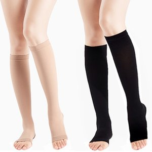 Socks Compression Knee High Support Men Womens Pain Relief Pressure Circulation Soft Varicose Vein Stocking