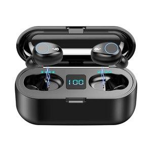 Генерация 3 2-го поколения Удобная версия Bluetooth шумоподавление Гарнитура F9-5C Обеспечение качества Беспроводная гарнитура Наушники Сотовые телефонные трубки