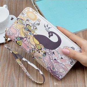Bag Student Korean Long Clutch Direct Ladies Printing Fashion Wallet Mobile Phone Zipper Ff F901 Factory Jxffs